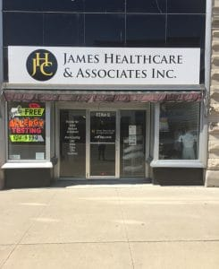 Chiropractic Keokuk IA James Healthcare & Associates Inc. Front door